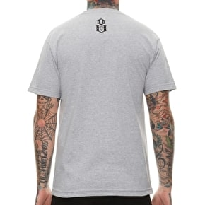 Rebel8 Tap The Rockies T-Shirt - Heather Grey