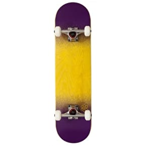 Rocket Skateboards Twin Fade Series Complete Skateboard - Yellow/Purple 7.75
