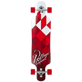 Voltage Drop Through Complete Longboard - White/Red 39