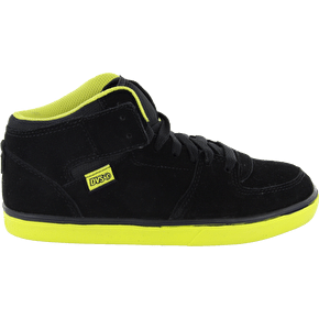 DVS Torey Kids Skate Shoes - Black/Sulfur Suede