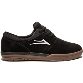 Lakai Fremont Skate Shoes - Black/Gum Suede