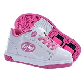 B-Stock Heelys X2 Dual Up - White/Pink - UK 3 (used)