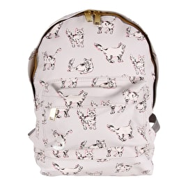 Mi-Pac Mini Cats Backpack - Light Grey
