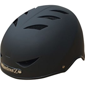 HardnutZ Rubber Helmet - Matt Black