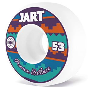 Jart Skateboard Wheels - Tipi 53mm 100a