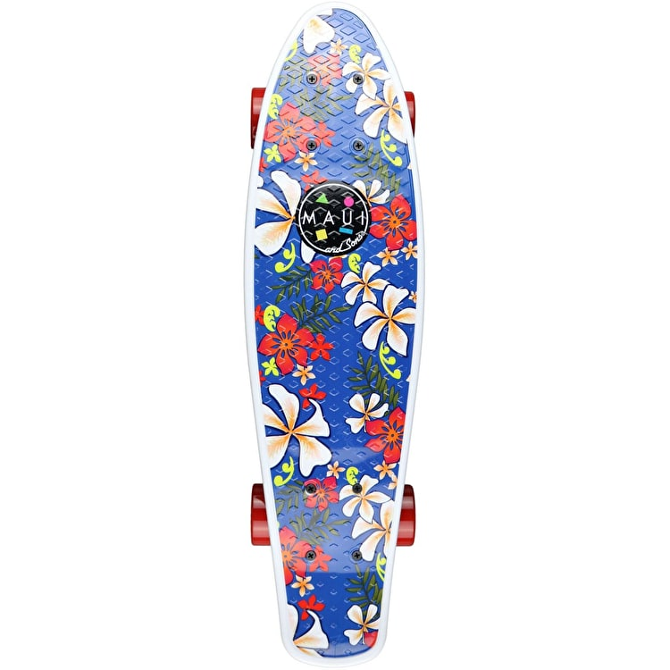 Maui And Sons Easy Livin' Complete Cruiser Skateboard 24""