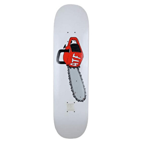 A Third Foot Chainsaw Skateboard Deck