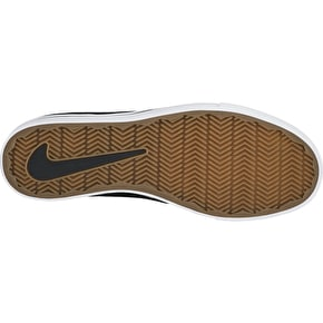 Nike SB Air Zoom Oneshot Shoes - Black/White/Gum