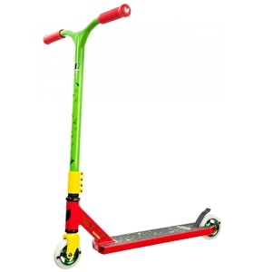 Blazer Pro Cyclone Complete Scooter - Red/Yellow/Green