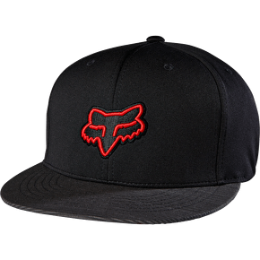 Fox Distain Snapback Cap - Black