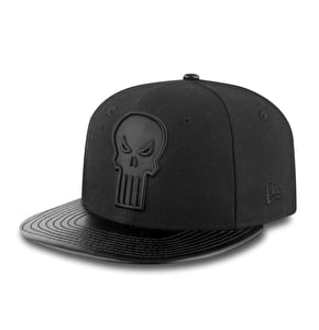 New Era 9Fifty Snapback Cap - Punisher Black