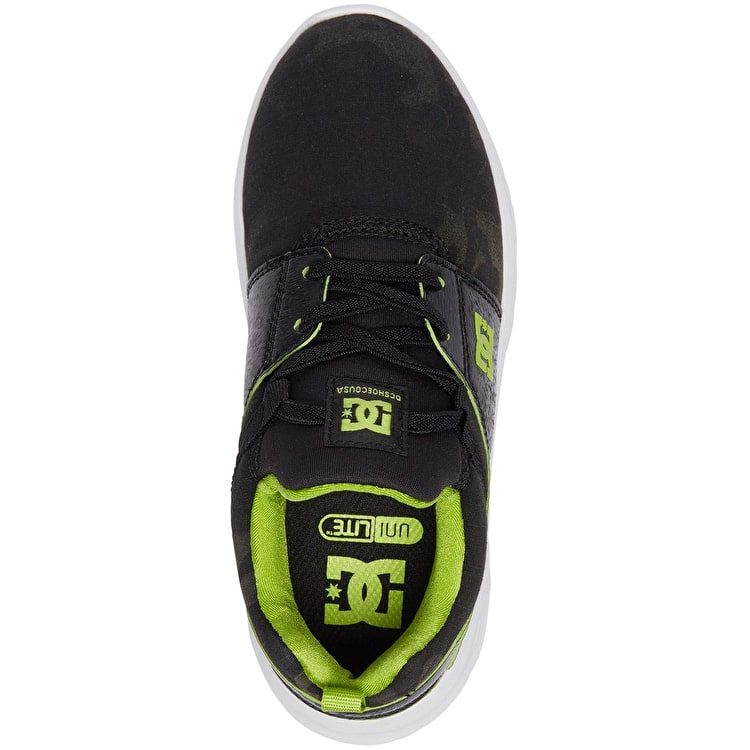DC Heathrow TX SE Kids Skate Shoes - Camo