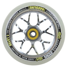 Eagle 110mm Hardline 1-Layer X6 Snowballs Scooter Wheel