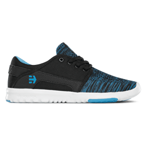 Etnies Scout YB Womens Skate Shoes - Black/Blue