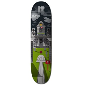 Plan B Skateboard Deck - Hole In One Haunted House Cole 8