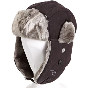Rip Curl Kids Chapka Hat - Black