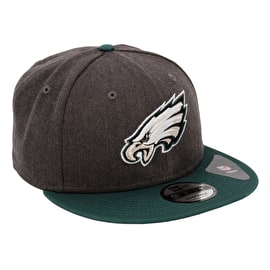 New Era Philadelphia Eagles NFL 9FIFTY Snapback Cap - Graphite Heather