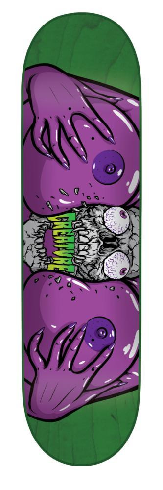Image of Creature Juggz The Final Chapter Skateboard Deck - 9.75""