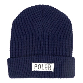 Poler Workerman Beanie - Navy