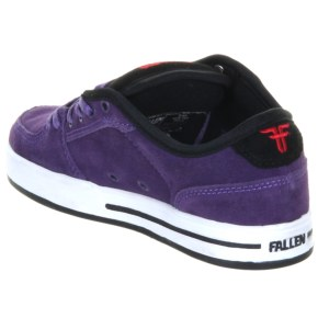 Fallen Patriot II Kids Shoes - Black/Ice Blue