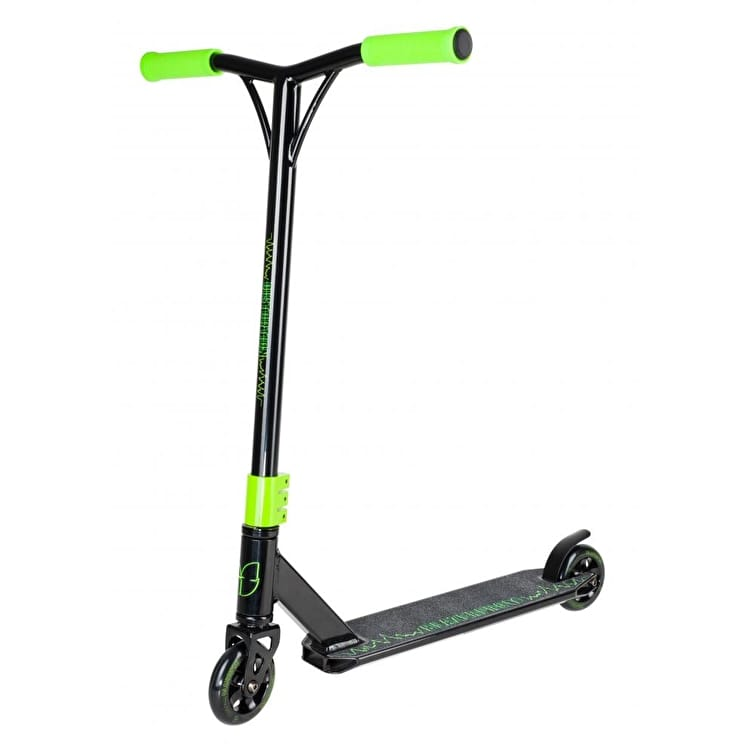 Blazer Pro Distortion Complete Scooter - Black/Green