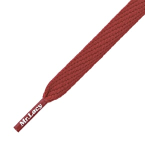 Mr Lacy Shoelaces - Flatties Burgundy