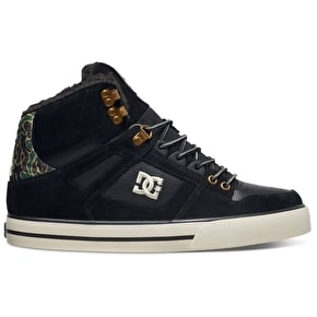 DC Spatran High WC WNT Shoes - Black Camo