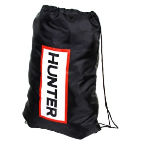 Hunter Drawstring Bag - Black