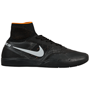 Nike SB Hyperfeel Koston 3 XT Skate Shoes - Black/Silver
