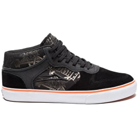 Lakai X Thrasher Skate Shoes - Black/Orange Suede