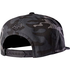 Fox Keep Out Snapback Cap - Black/Camo