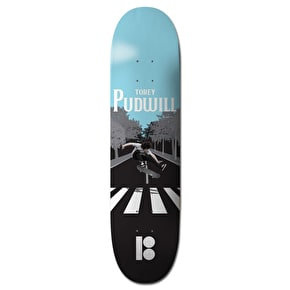 Plan B Black Ice Skateboard Deck - Pudwill A-B Road 8.0
