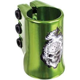MGP Oversized Hot Head Triple Collar Clamp - Green