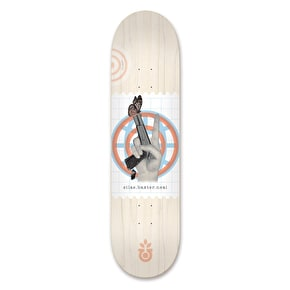 Habitat Silas World 'Piece' Skateboard Deck - 8.0