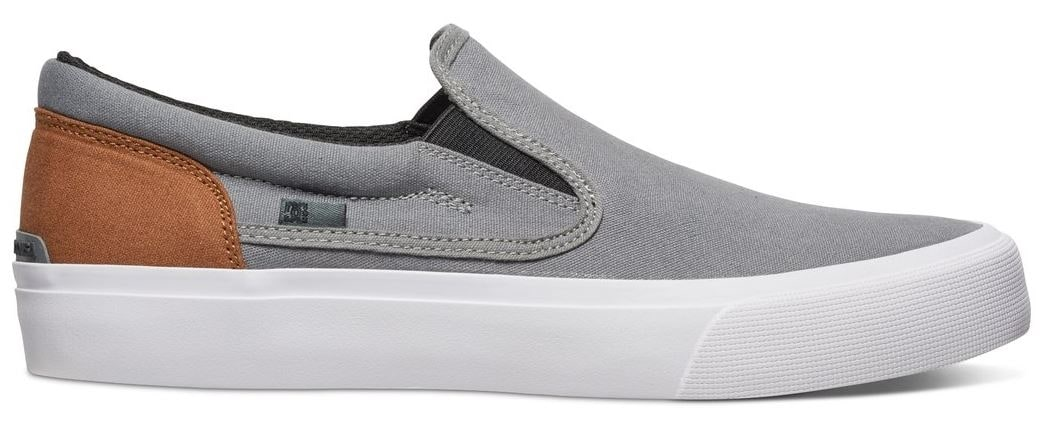 Image of B-Stock DC Trase Slip-On TX Shoes - Grey/Black/Brown UK 9 (Box Damage)