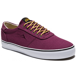 Lakai Manchester Lean Shoes - Oxblood Suede