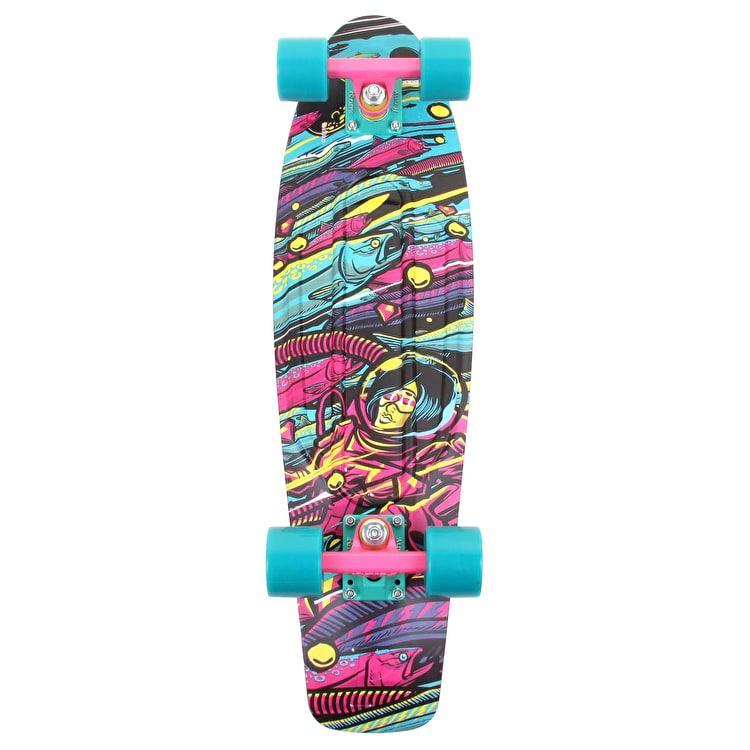 Penny Nickel Sea Space Complete Skateboard - 27""