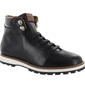 WeSC Designer Aleister Boots - Black Leather