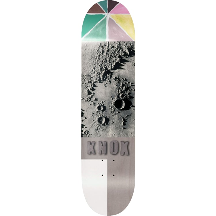 Isle Lunar Skateboard Deck - Tom Knox 8.25""