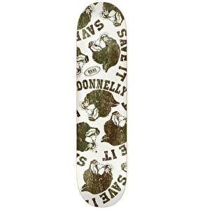 Real Donnelly Save It Skateboard Deck - 8.25