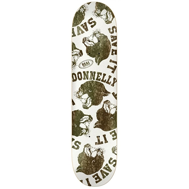 Real Donnelly Save It Skateboard Deck - 8.25""