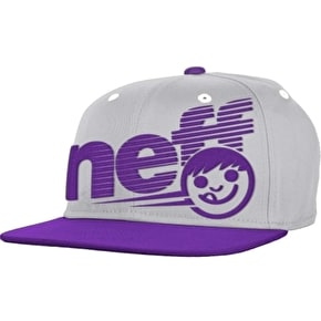 Neff Grade Kids Cap - Grey