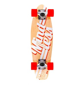 Mindless Daily Stain 24/7 Longboard - Natural/White