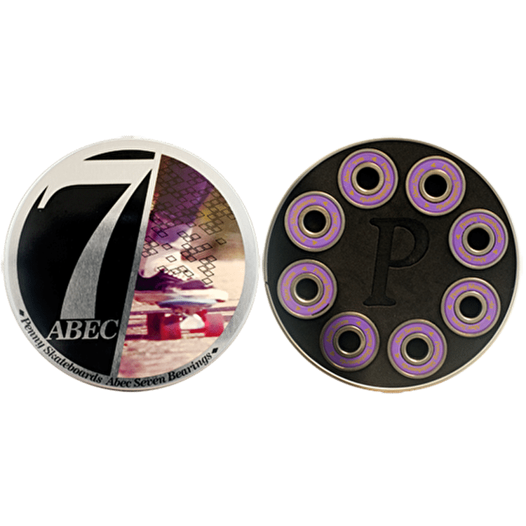 Penny ABEC 7 Bearings (Pack of 8)