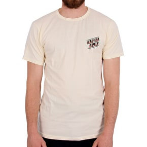 Santa Cruz The Lane T-Shirt - Vintage White