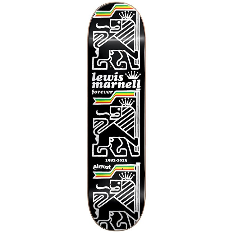 """Almost Lewis Stack R7 - Lewis Marnell Skateboard Deck 8"""""""