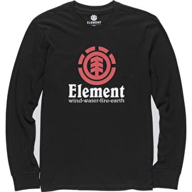 Element Vertical Longsleeve T-Shirt - Flint Black