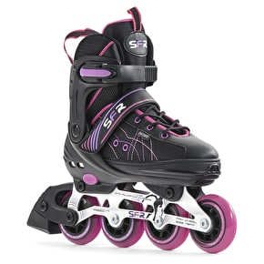 SFR RX-XT Adjustable Inline Skates - Black/Pink