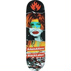 Black Label Alfaro Faded Beauty Skateboard Deck - 8.68