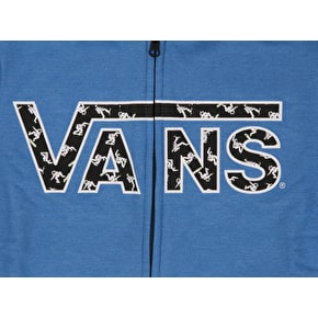 Vans Classic Kids Zip Hoodie - Royal Heather/Astronauts